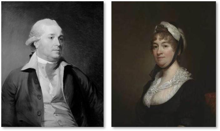 Sir John Temple, Elizabeth Bowdoin Temple