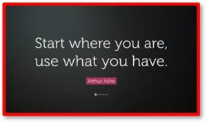 Start where you are, Use what you have, Creative cooking, Cooking from the pantry, food