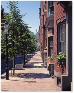 Temple Street, Beacon Hill, State House, Sir John Temple, Elizabeth Bowdoin