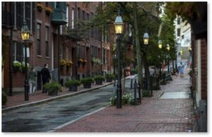 Temple Street, gas lamps, LEDs