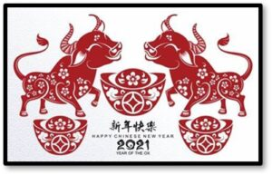 Year of the Ox, Chinese New Year, hard work, prosperity