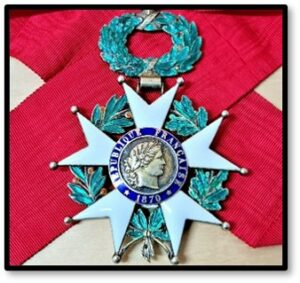 Medal of the Legion of Honor, Legion d'Honneur, Dad