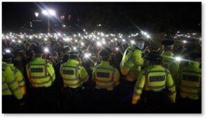 Sarah Everard, London, women's protests. violence against women,Metropolitan Police