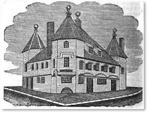 Triangular Warehouse, Merchant's Row, Boston,