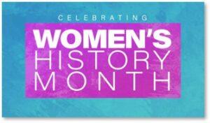 Women's History Month, women, history, scorecard