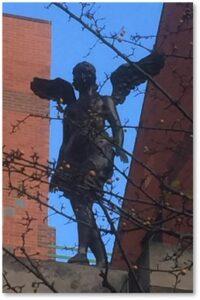 Church Court, Gene Cauthen, Graham Gund Associates, angel