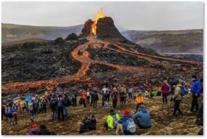 Iceland, volcano, Earth, Mount Fagradalsfall