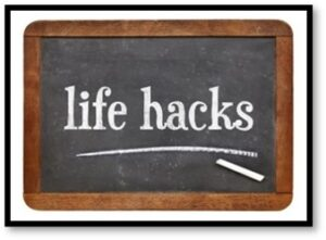 Life Hacks, Hacker, Susanne Skinner, tips and tricks, hack