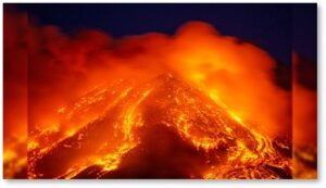 Mount Etna, Sicily, Italy, shield volcano, eruption 2021
