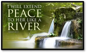 I will extend peace to her like a river, Memory Care, Assisted Living