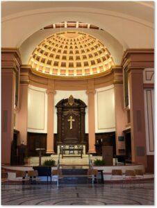 St. Paul's Church, Cathedral Church of St. Paul, Tremont Street, Boston, Ralph Adams Cram, reredos