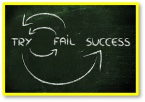 Try Fail Success, Doing Things Differently
