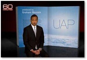 60 Minutes, UAP segment, Bill Whitaker,