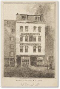 Oriental Tea Company, Court Street, Boston