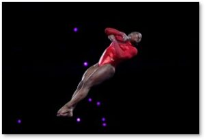 Simone Biles, GOAT, Yurchenko double-pike vault, gymnastics