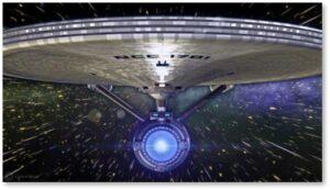 USS Enterprise, NCC-1701, Star Trek, Captain Kirk, Warp Factor One