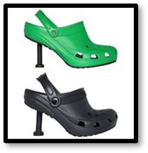 Crocs, stillettos, fashion police