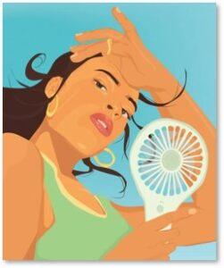 women, women's bodies, Oana Qazan Hot Flash, Menopause, Perimenopause,