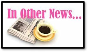 In Other News, July 2021, Coffee, Newspaper