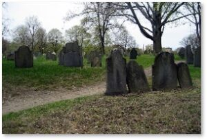 Central Burying Ground, Boston Common, Boston, Boylston Street, Haunted Boston
