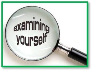 Examining Yourself, envy, jealousy, compare