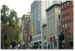 Piano Row, Charles Street, Boston Common