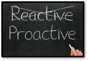Reactive, Proactive, Preparation, Surviving Spouse