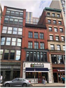 Piano Row, Three Bricks, Garbanzo, The Shaking Crab, Boylston Street, Boston