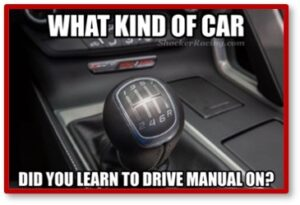 What Kind of Car Did You Learn to Drive Manual, phishing, passwords, hacking