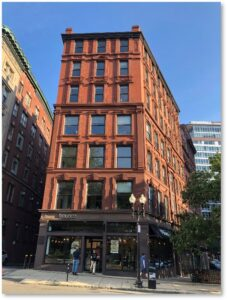 176 Boylston Street, Boloco, Carver Street, Piano Row, Poe Square