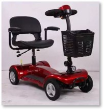 handicap scooter, vehicle, mobility