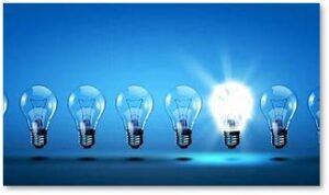light bulbs, innovation contest, ideas, smaht people, STEM