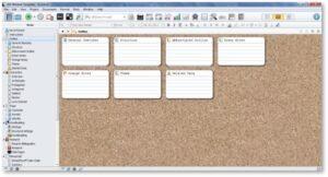 Scrivener, corkboard, Literature and Latte, editing, writing, software