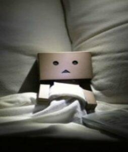 insomnia, sleepless character, worry