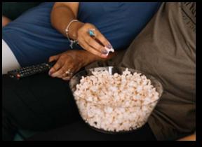 TV Watchers, Delta Watchlist, popcorn, television, TV
