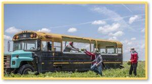 watermelon bus, North Central Florida, food desert