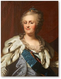 Catherine the Great, Tsar, Russia