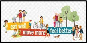 Eat Well, Move More, Feel Better, fitness, exercise, diet