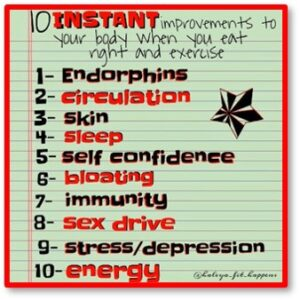 Endorphins, benefits, power, functions