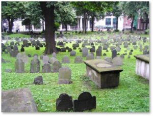 Chest tomb, Old Granary Burying Ground, tour guide, ghost tour, Haunted Boston