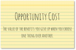 Opportunity Cost, Cost of war, benefits, choices