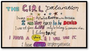 The Girl Declaration, International Day of the Girl,