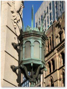 Grand Masonic Lodge of Massachusetts, Lantern, Corner of Boylston and Tremont Streets, Boston