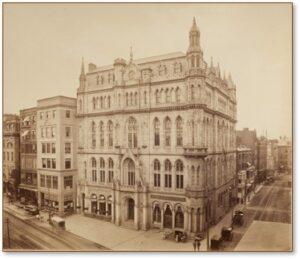 Merrill Greene Wheelock, Grand Lodge of Masons in Massachusetts, Masonic Temple, Temple Place, Boylston Street, Boston