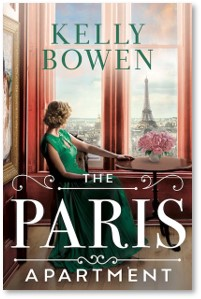 The Paris Apartment, Kelly Bowen, WWII, art, spies,