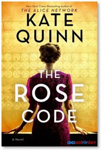 The Rose Code, Kate Quinn, Bletchley Park, WWII, code breaking, spies